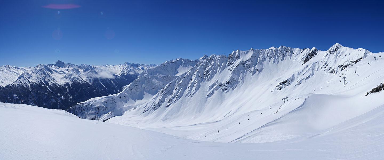 Atemberaubende </br> Bergwelt