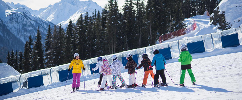 Skifahren für </br> die Kleinsten